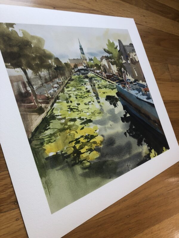 Full view: Delft Print