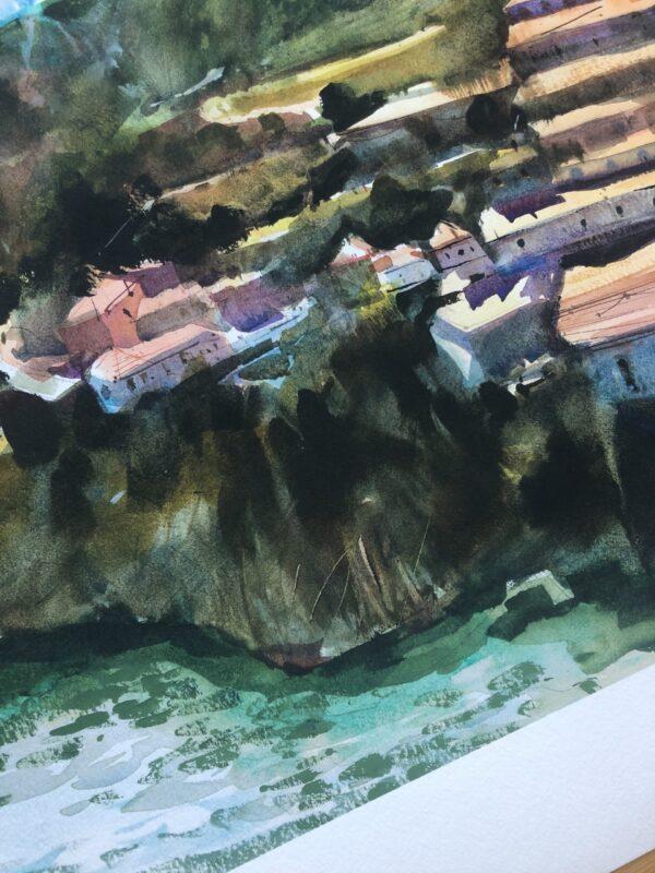Close up: Porto Print